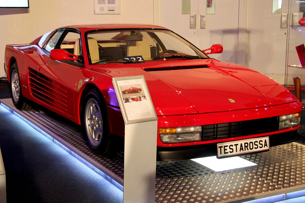 A record £202,500 was paid for this low-mileage Testarossa