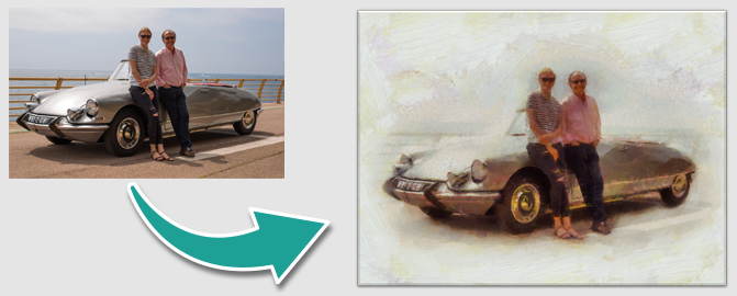 Turn Your Classic into a Unique & Personal Piece of Artwork.