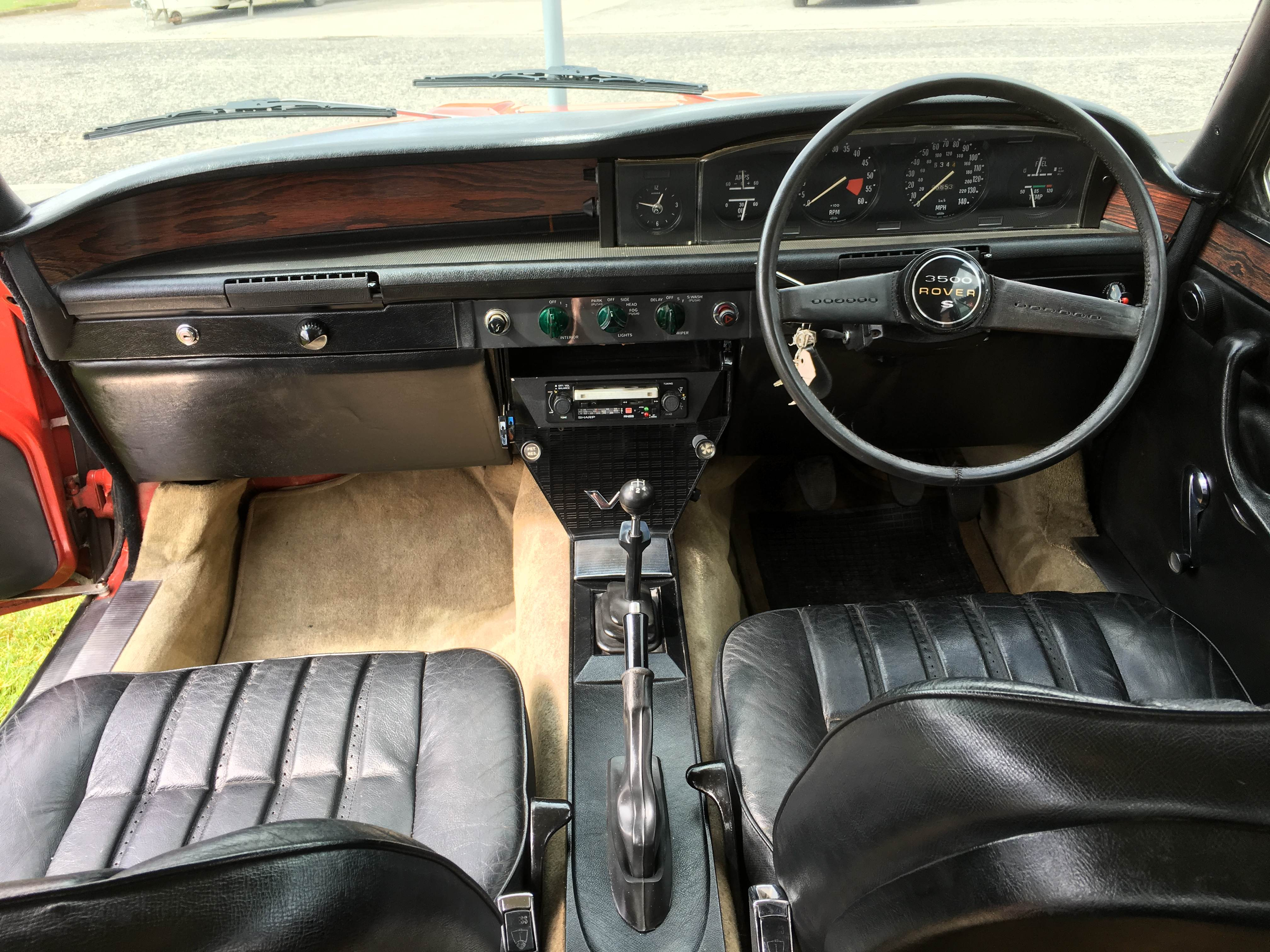 rover v8 manual gearbox
