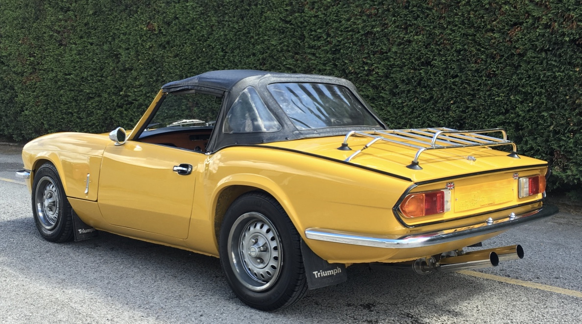 Used Cars For Sale Under 6000 >> 1979 Triumph Spitfire 1500 | Kad Classics